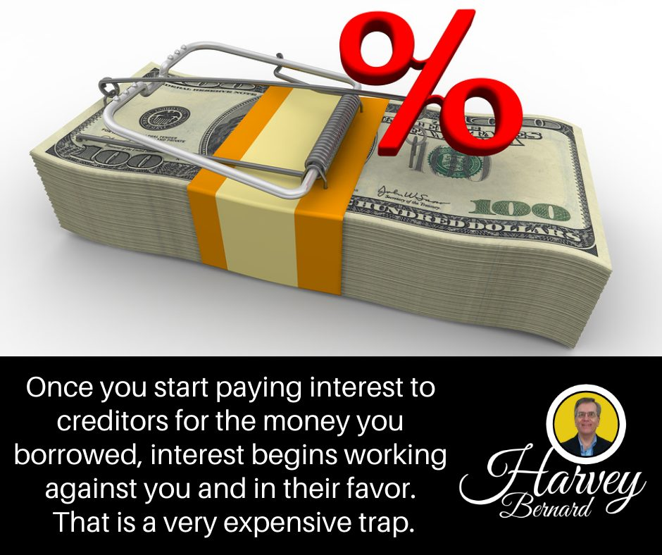 Mortgage interest works against you